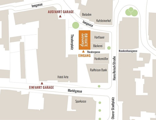 Kultur Quartier Kufstein, Private Living Tirol